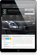 magento automotive tablet