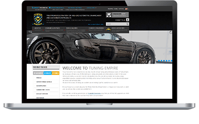 magento automotive web